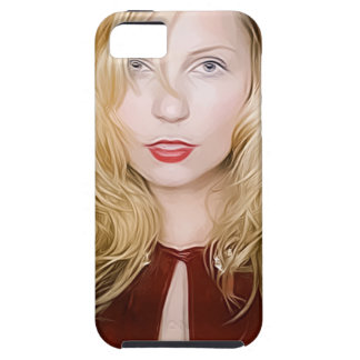 girl with red cape iPhone 5 cases