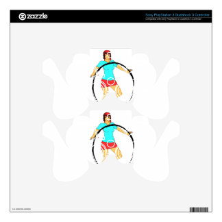 Girl with Ring PS3 Controller Decal
