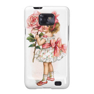 Girl with Rose Samsung Galaxy S Covers