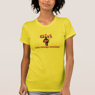 Girl With Strings Attached (Acoustic) Tshirts