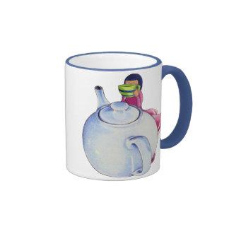 Girl with Tea Mug