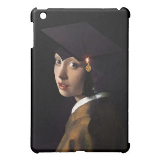 Girl with the Graduation Hat iPad Mini Cases