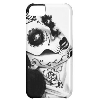Girl With The Neck Tattoo by Carissa Rose iPhone 5C Case