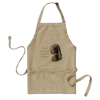 Girl with the Pearl Earring Adult Apron