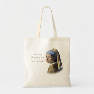 Girl with the Pearl Earring Budget Tote Bag