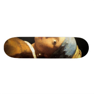 Girl With The Pearl Earring Skateboard