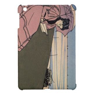 Girl With The Pink Parasol (iPad Mini Case) Cover For The iPad Mini