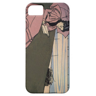 Girl With The Pink Parasol (iPhone 5/5S case) iPhone 5 Cases