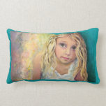 Girl with Trusting Eyes Pillows