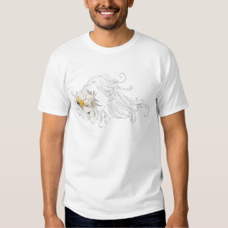 Girl with Venetian Mask T Shirt