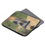 Girl with Watering Can, Renoir, Impressionism Art Laptop Computer Sleeve