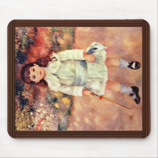 Girl With Whip By Pierre-Auguste Renoir Mouse Pad