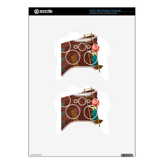 Girl working at the construction site xbox 360 controller skins