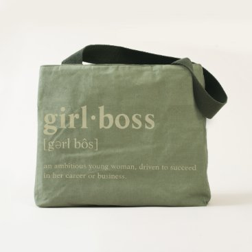 Professional Business Girlboss - Dictionary meaning Tote