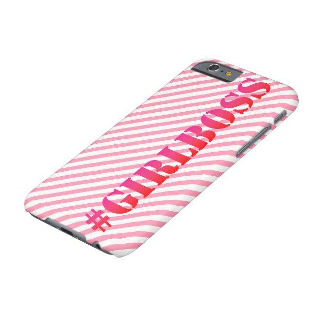 #GirlBoss - Fun Quote Phone case