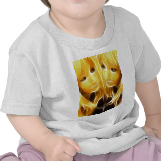 GirlFace 4 T-shirts