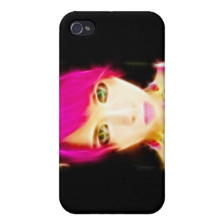 GirlFace 8 iPhone 4 Cover