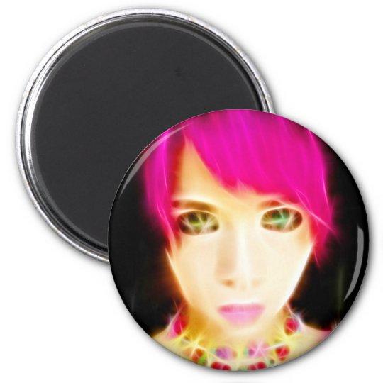 GirlFace 8 Magnet