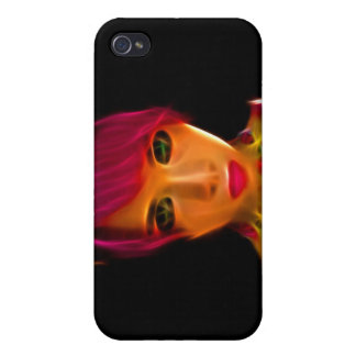 GirlFace 9 iPhone 4/4S Cases