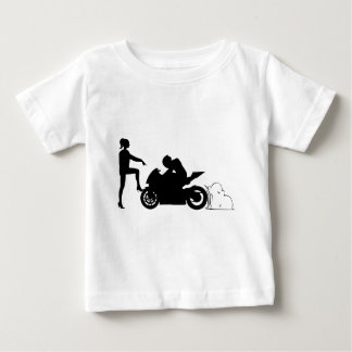 Girlfriend and motorcycle t shirt