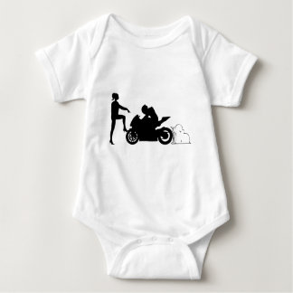 Girlfriend and motorcycle shirts