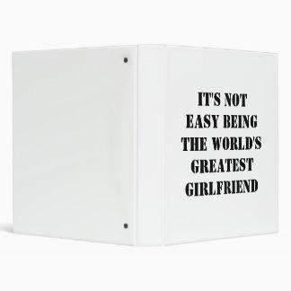 Girlfriend 3 Ring Binders