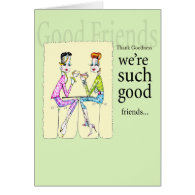 Girlfriend birthday or friendship card