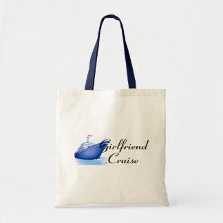 Girlfriend Cruise Budget Tote Bag