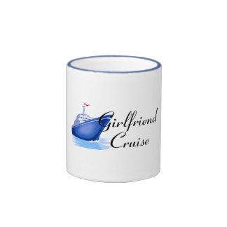 Girlfriend Cruise Ringer Coffee Mug
