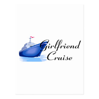 Girlfriend Cruise Postcard