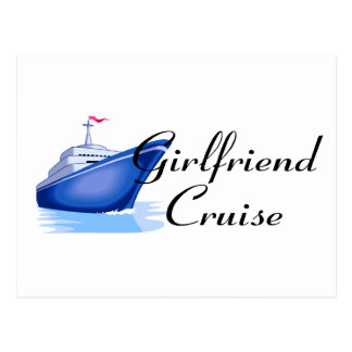 Girlfriend Cruise Postcard