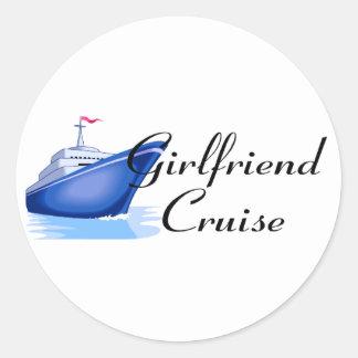 Girlfriend Cruise Stickers
