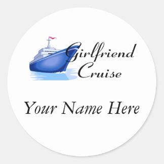 Girlfriend Cruise Sticker