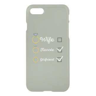 Girlfriend Fiancee Wife hen Party Zno5a iPhone 7 Case