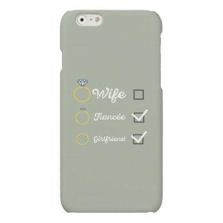 Girlfriend Fiancee Wife hen Party Zno5a Matte iPhone 6 Case