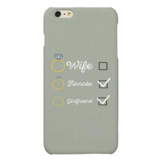 Girlfriend Fiancee Wife hen Party Zno5a Matte iPhone 6 Plus Case