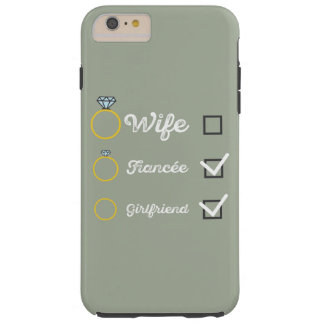 Girlfriend Fiancee Wife hen Party Zno5a Tough iPhone 6 Plus Case