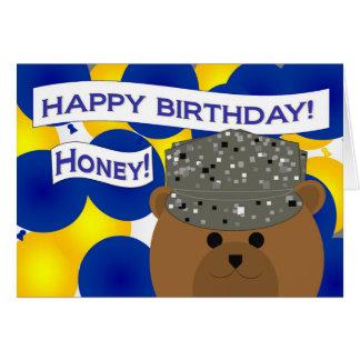 Girlfriend - Happy Birthday Active Duty Air Force! Card