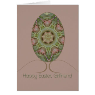 Girlfriend  Happy Easter Card
