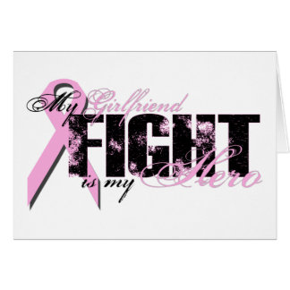 Girlfriend Hero - Fight Breast Cancer Card