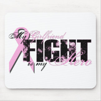 Girlfriend Hero - Fight Breast Cancer Mouse Pad