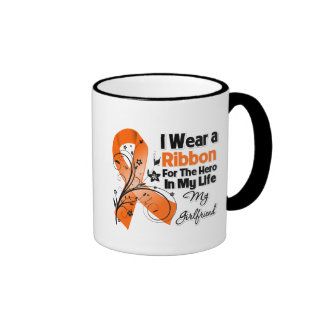 Girlfriend Hero in My Life Leukemia Coffee Mug