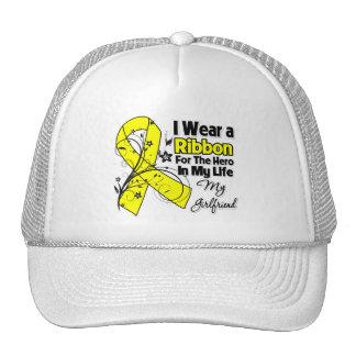 Girlfriend Hero in My Life Sarcoma Awareness Mesh Hat