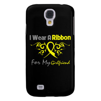 Girlfriend - I Wear A Yellow Ribbon Military Suppo Galaxy S4 Cover