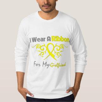 Girlfriend - I Wear A Yellow Ribbon Military Suppo Shirt