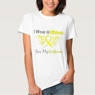 Girlfriend - I Wear A Yellow Ribbon Military Suppo T Shirt