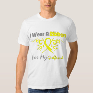 Girlfriend - I Wear A Yellow Ribbon Military Suppo Tee Shirt
