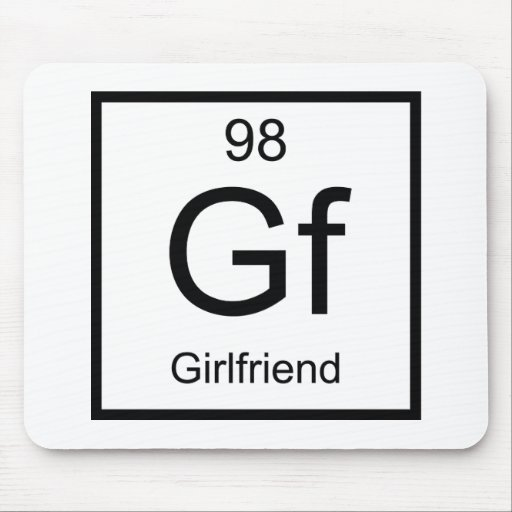 Girlfriend Mouse Pad