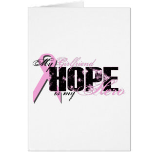 Girlfriend My Hero - Breast Cancer Hope Card