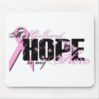 Girlfriend My Hero - Breast Cancer Hope Mouse Pad